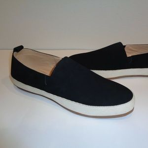 English Laundry WYNNE Black Leather New Loafers